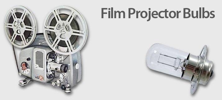 8mm, 16mm, 35mm Movie Film Projector Lamps
