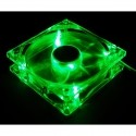 90/92mm Crystal Fan - Quad Green LED
