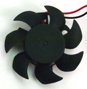 Evercool 45x45x10mm, 12v Bury Type Fan  - EC4510M12S-B