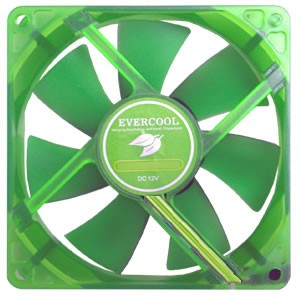 Evercool 40mm Ever Green RoHS Compliant Silence Fan - EGF-4