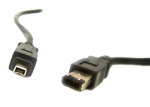 Firewire Male to Mini-Firewire Male Cable - 3ft - IEEE1394