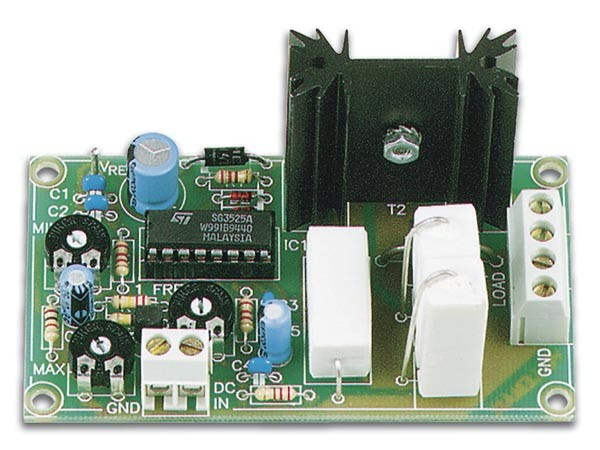 Velleman DC to Pulse Width Modulator Kit