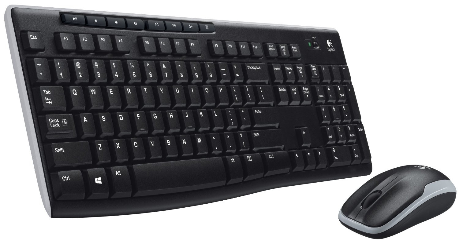 Logitech Wireless Desktop MK270 Keyboard & Mouse