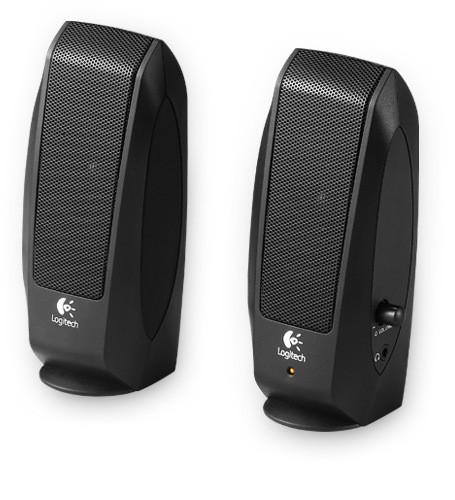 Logitech S-120 Powered Multimedia Stereo Speakers