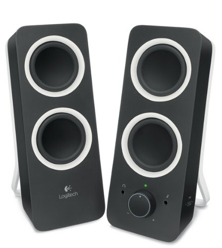 Logitech Z200 Multimedia Speakers - Black