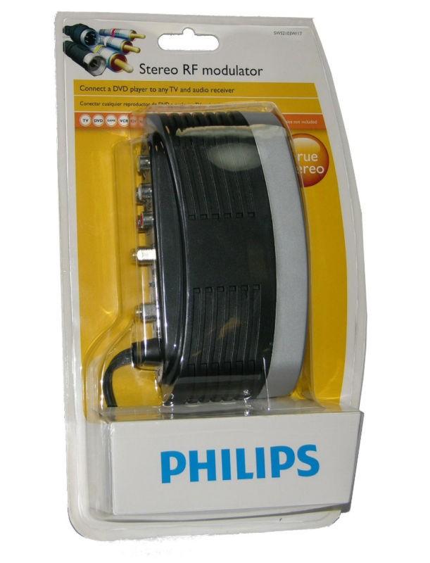 Philips True Stereo RF Modulator