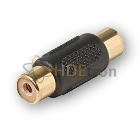 RCA Jack Male to Male Coupler