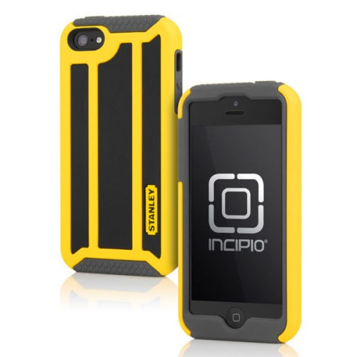 Stanley Highwire for iPhone 5 with Holster - Black & Yellow