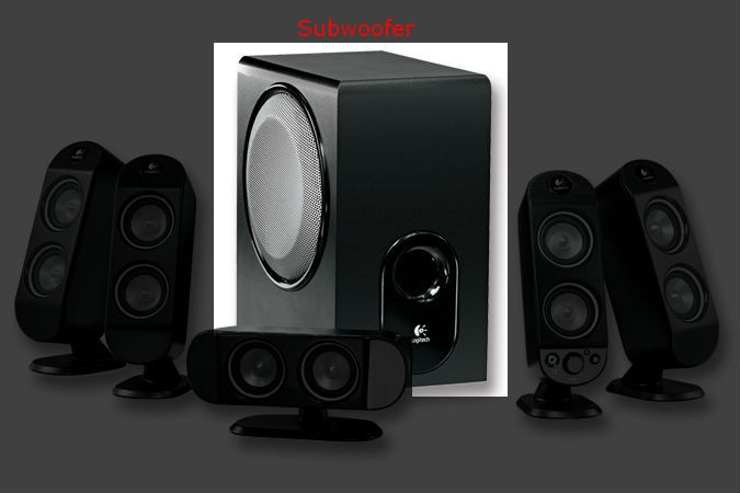 X-530 Replacement Subwoofer