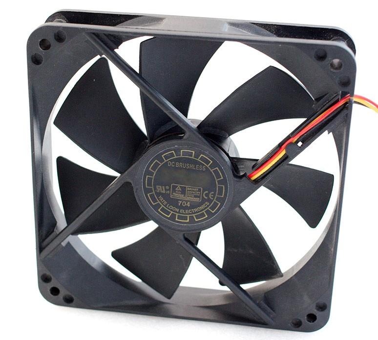 Yate Loon 120x25mm, 88cfm High Speed Cooling Fan - D12SH-12