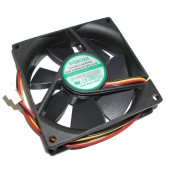 Evercool 80x25mm, 12v Medium Speed Cooling Fan - EC8025M12CA