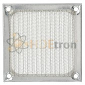Silver Aluminum Fan Filter