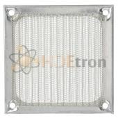 Silver Aluminum Fan Filter