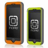 Incipio DualPro iPhone 5s Case - Gray (Orange/Green Combo Pack)