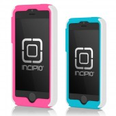 Incipio DualPro iPhone 5s Case - White (Pink/Blue Combo Pack)