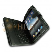 iPad 3 Case with Bluetooth Keyboard - Also Fits iPad 2 and iPad