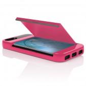 Incipio STOWAWAY iPhone 5s Case - Pink/Gray