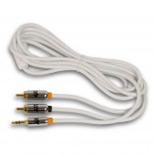 NuclearAV Baryon 3.5mm Male to Dual RCA Cable