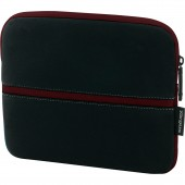 Targus 10.2in Slipskin Peel Netbook Sleeve - Black/Burgundy