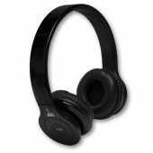 NuclearAV U-238 Uranium Series Bluetooth Headphones - Black