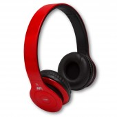 NuclearAV U-238 Uranium Series Bluetooth Headphones - Red