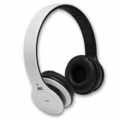 NuclearAV U-238 Uranium Series Bluetooth Headphones - White