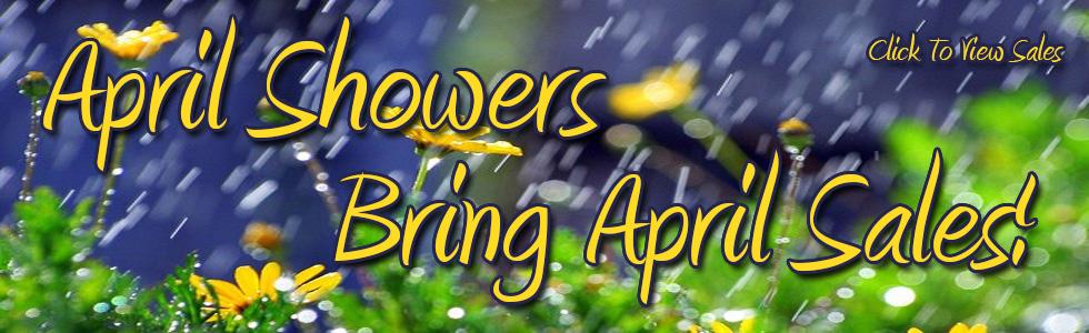 April Through May Sales