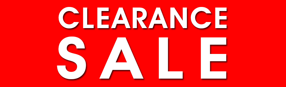 Excess Inventory Clearance Sale